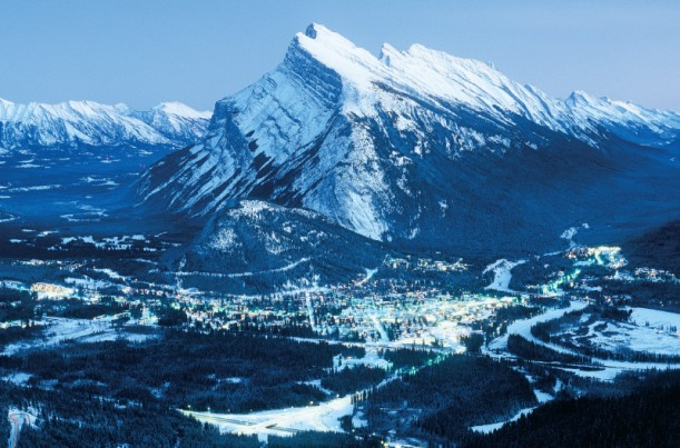 banff winter