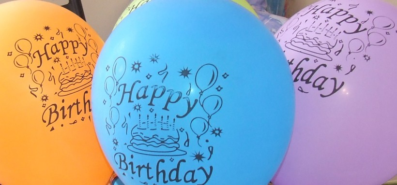 bday balloons