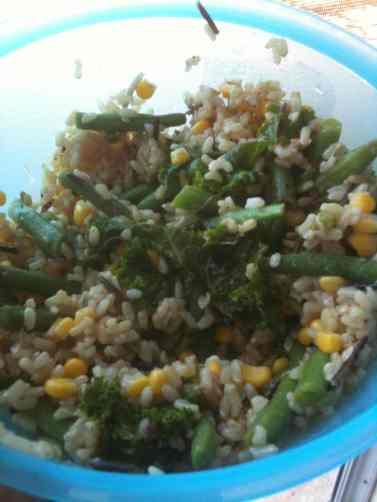 Feb 11 brown salad