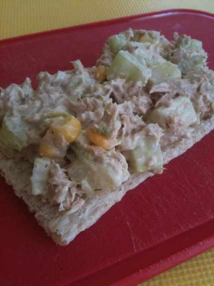 Feb 24 tuna on quinoa