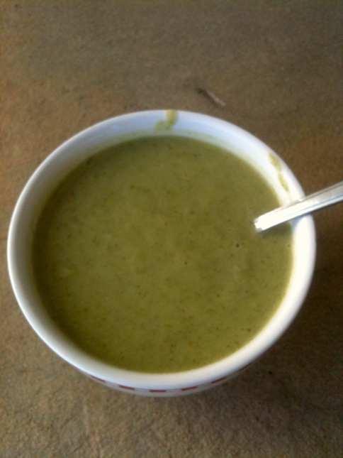 apr 3 broccoli soup