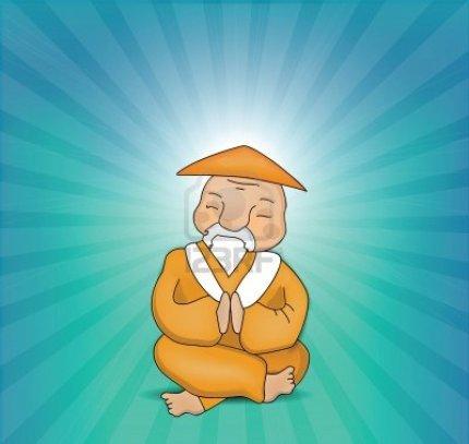 12438132-zen-master-meditating