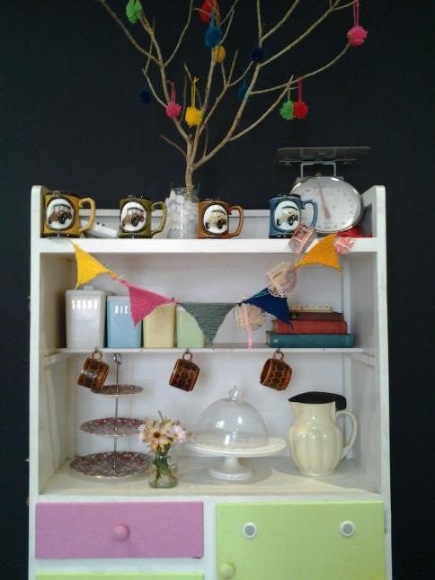 salt dish retro cabinet