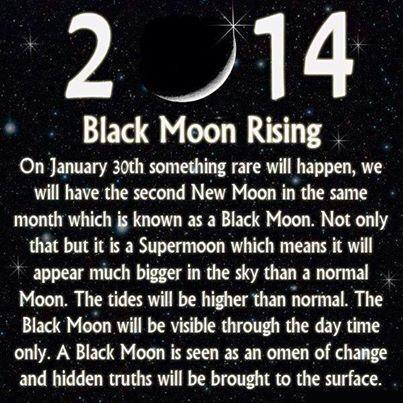 Black moon 2014